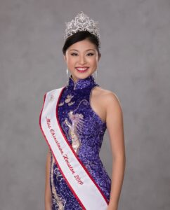 Lauren Yang's Winning Smile helped her win Miss Chinatown Houston for 2019-2020 and Miss Chinatown USA for 2020-2021